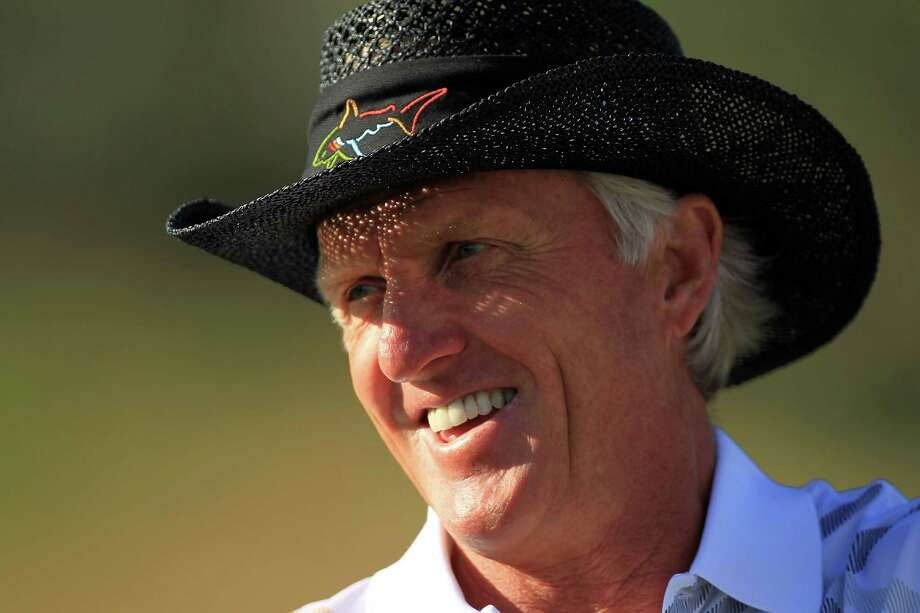 "Greg Norman is the face of suffering at Augusta National, the only debate being which one haunts him the most.He is most famous for his collapse in 1996, the year he tied the course record with a 63 in the opening round and still had a six-shot lead over Nick Faldo going into Sunday. The Shark missed a short putt on the 10th, three-putted for bogey from medium range on the 11th, hit into Rae's Creek on the 12th. He dropped to his knees when his eagle chip narrowly missed on the 15th, and it was over for good with a tee shot into the water on the 16th. Norman had a 78 to finish five behind Faldo — an 11-shot swing.That was his fault. Equally devastating was his playoff loss in 1987 against Larry Mize, who appeared to be in trouble to the right of the 11th green. The only thing that could stop Mize's pitch was the hole, and it did. It was one of the most improbable birdies ever in a playoff at Augusta.Norman made a furious rally in 1986 and needed a birdie to win on the 18th. But his approach sailed over the green and he made bogey, leading to Jack Nicklaus winning. And then there was 1999, when Olazabal matched his birdies and reduced Norman to another close call.The Masters remains the only major that an Australian has never won. Whoever does will surely say, ""This one is for Greg."" Photo: Scott Halleran, File / 2012 Getty Images"