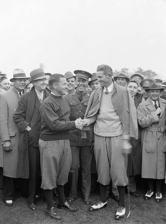Augusta National has been home to the prestigious golf tournament since 1934 when Horton Smith, right, won the tournament, on the course designed by Bobby Jones, left.Here's a look back at the Masters. Photo: Associated Press / 1934 AP