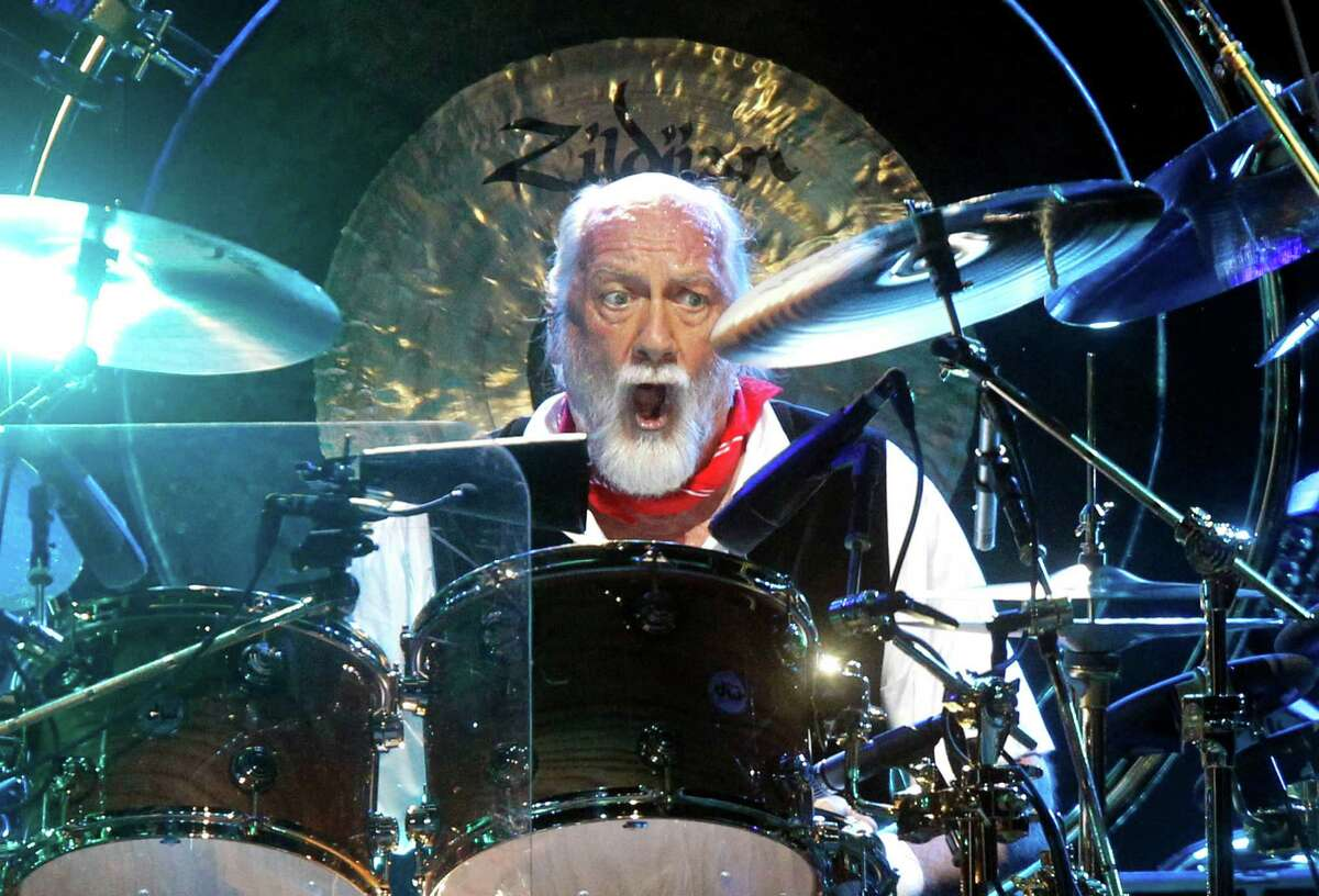 Drummer Mick Fleetwood performs during a Fleetwood Mac concert at Madison Square Garden, Monday, April 8, 2013, in New York.