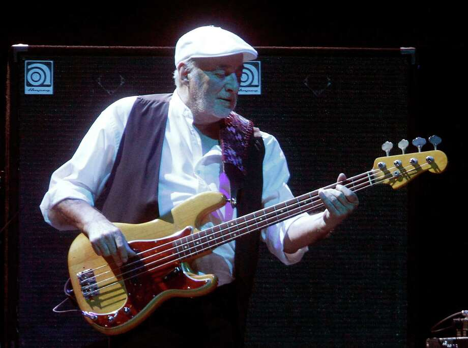 Bassist John McVie performs during a Fleetwood Mac concert at Madison Square Garden, Monday, April 8, 2013, in New York. Photo: Jason DeCrow, Jason DeCrow/Invision/AP / Invision