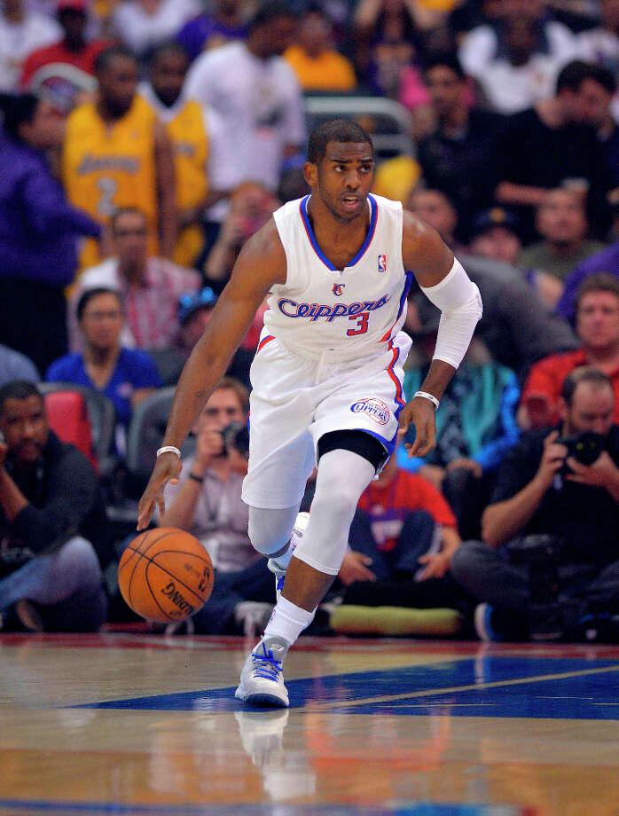 9. Chris Paul  The Los Angeles Clippers point guard led his team to its first Pacific Division championship this season. Photo: Mark J. Terrill