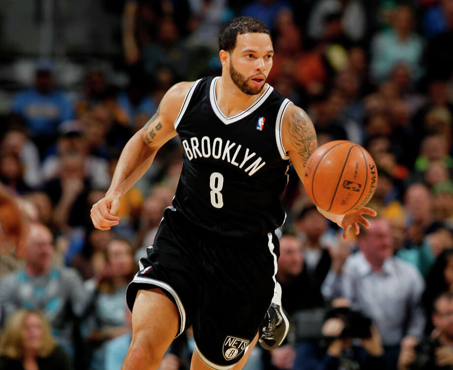 6. Deron Williams  After a move from New Jersey, the point guard and his Brooklyn Nets had a full makeover that included sleek new uniforms. Photo: David Zalubowski