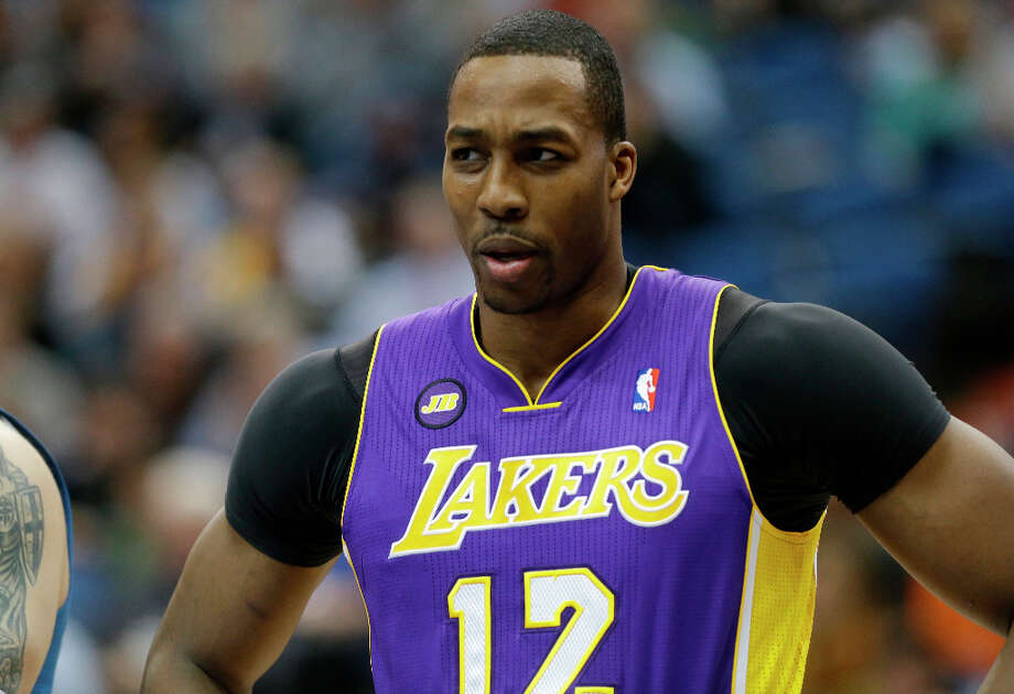 12. Dwight Howard  The Los Angeles Lakers center is never far from controversy, but still has sway with fans. Photo: Jim Mone