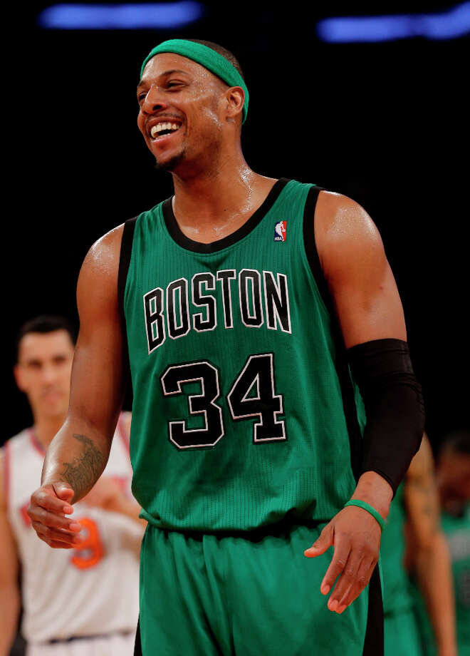 15. Paul Pierce  The Boston Celtics forward is in the 14th season of his career. Photo: Seth Wenig