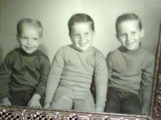 Then: L-R , youngest to oldest: Mike, Wayne & Alan Sisk, taken in 1966 in Alabama. Photo: Courtesy Photos