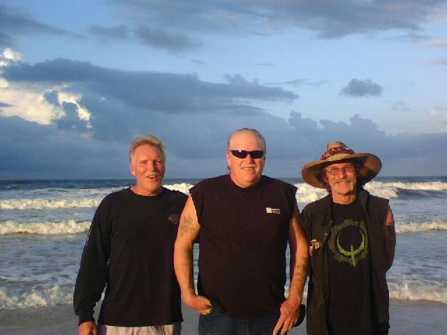Now:Mike, Wayne & Alan Sisk, taken in September 2012 at Panama City Beach. Photo: Courtesy Photos