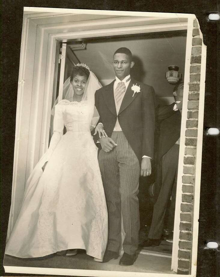 Then: 1962 wedding of William & Etta Tricksey, St Elizabeth Church, Selma, Alabama. Etta, a middle school teacher in New Orleans, La. William, assistant manager of district insurance co., Mobile, Al. Photo: Courtesy Photos
