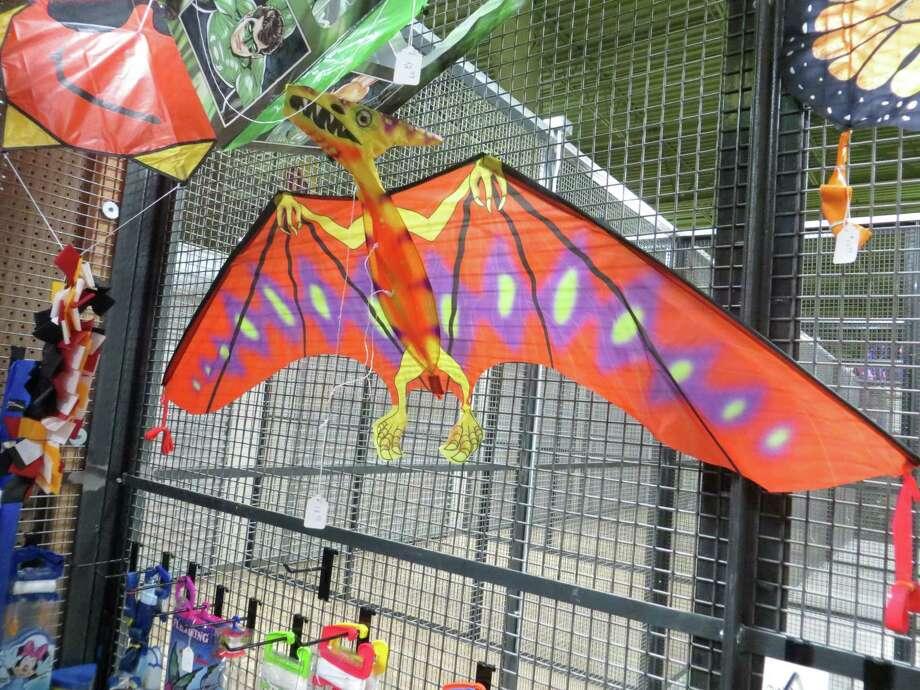 910 SE Military Drive: (Inside Pica Pica Plaza) River City Kites: River City Kites has this cool dinosaur kite. Photo: Jennifer Rodriguez