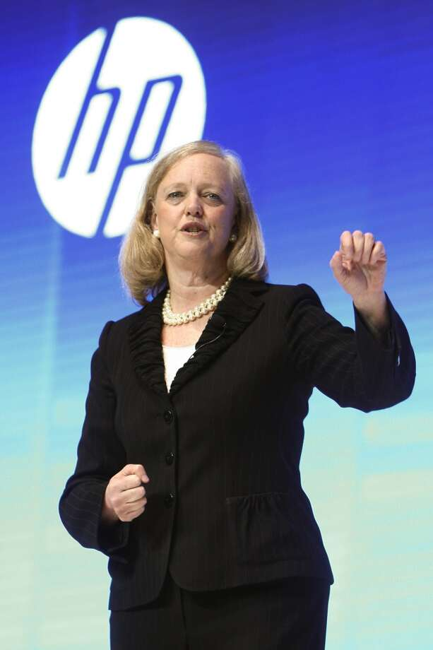 Meg Whitman, president-CEO of Hewlett-PackardThe CEO made a $1 base salary, but she made $15.4 million in total compensation in 2012, according to Reuters. Most came in the form of stock options, stock awards and other income.Source: CNNMoney Photo: ChinaFotoPress Via Getty Images
