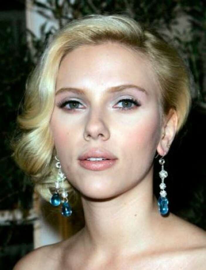 Thanks to Blue Ivy color names are also popular, but the most popular color is Scarlett, as in Scarlett Johansson.  (Kevork Djansezian / Associated Press)