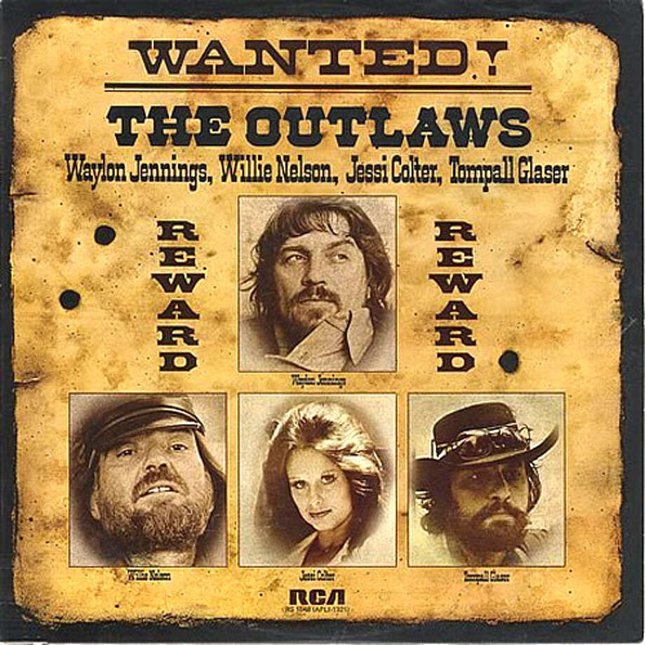 """January 1976: The """"Wanted! The Outlaws"""" compilation with Waylon Jennings, Jessi Colter and Tompall Glaser becomes a smash hit, proving a financial blessing and a creative curse."""