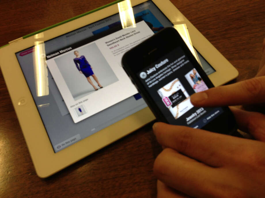 "Like a ""personal digital mall,\"" Catalog Spree lets users browse catalogs through synced accounts online, on an iPad or on an iPhone."