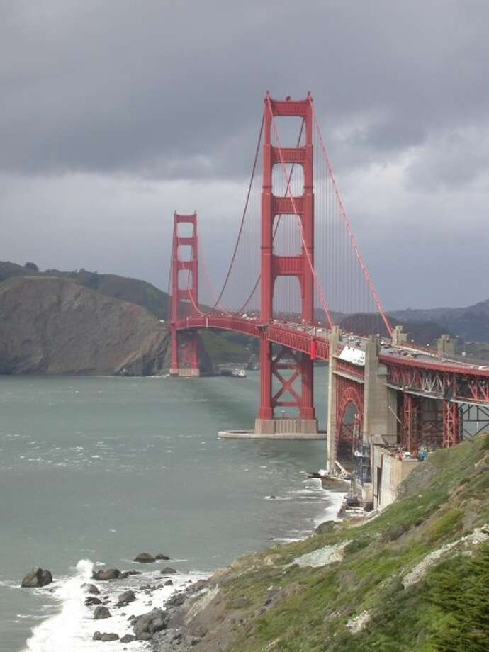 Golden Gate Bridge from Coastal Trail at the Presidio.  The Golden Gate National Recreation Area, with 14.5 million visitors, was the No. 2 most visited national parkland in America last year behind Blue Ridge Parkway.  The parkland includes...