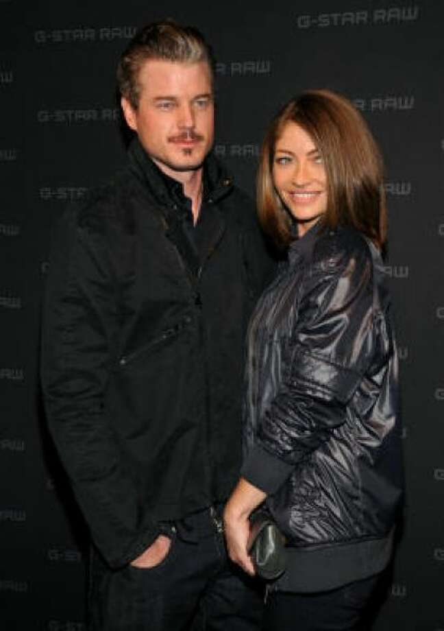 McSteamy Eric Dane and formerly 'good-girl' wife Rebecca Gayheart ended up on Gawker.com, featuring a taped romp with a former Miss Teen USA - complete with drug use. Photo: Photo By Bryan Bedder/Getty Images For IMG