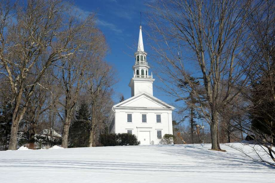 No. 9: Easton has 92.7 men per 100 women.  Congregational Church of Easton at 336 Westport Rd  Easton, Conn. 06612 Feb. 14, 2013