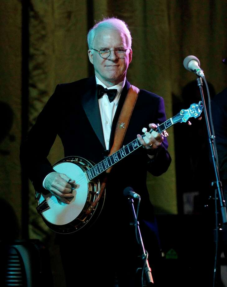 Steve Martin is a comedian, novelist, playwright and banjo player. Waco is proud to claim him, no doubt. (Photo by Rick Scuteri/Invision/AP) Photo: Rick Scuteri, Associated Press / Invision