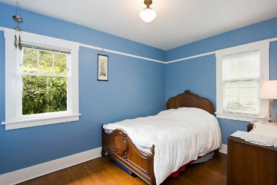 Bedroom of 10461 Waters Ave. S. The 1,598-square-foot house, built in 1928, has three bedrooms, one bathroom, a front porch and a covered back patio on a 5,650-square-foot lot. It's listed for $299,000, although a sale is pending. Photo: Courtesy Su Harambe/Windermere Real Estate