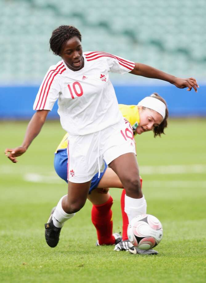 Tiffany CameronPosition: forward Age: 21 Hometown: Mississaugua, Ohio Last club: Ohio State
