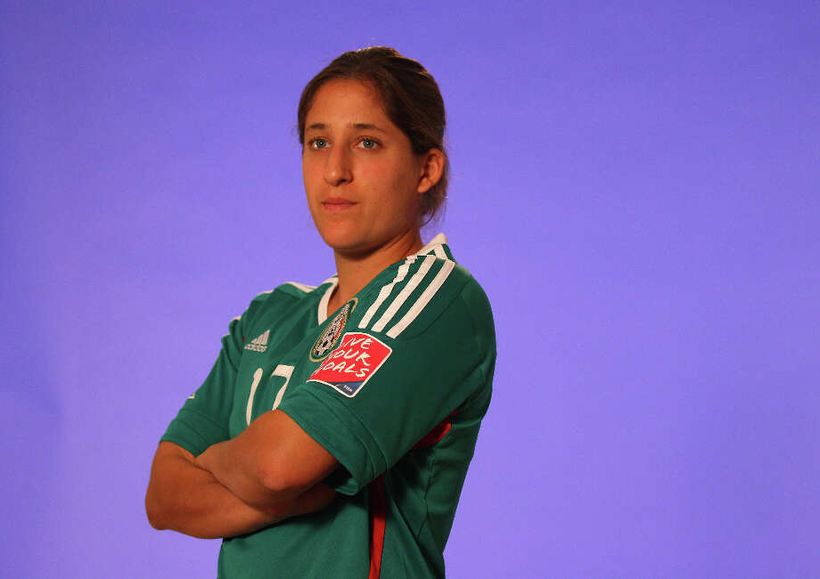 Teresa Noloya Position: defender Age: 29 Hometown: Palo Alto, Calif. Last club: Mexican national team  Photo: Alex Livesey - FIFA, FIFA Via Getty Images / 2011 FIFA