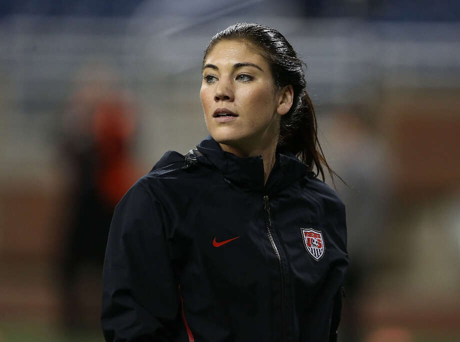 Hope Solo Position: goalkeeper Age: 31 Hometown: Richland, Wash. Last club: U.S. national team  Photo: Leon Halip, Getty Images / 2012 Getty Images