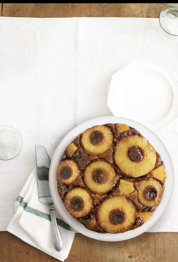 Country Living recipe for Salted-Caramel Pineapple Upside-Down Cake. Photo: Andrew Purcell