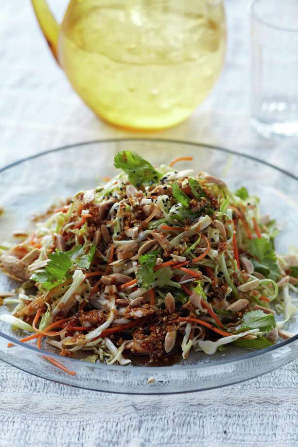 "Curtis Stone's ""What's for Dinner?"" features a recipe for Grilled Ginger-Sesame Chicken Salad. Photo: Ballantine Books"