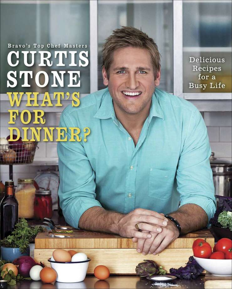 """Cover: """"What's for Dinner? Delicious Recipes for a Busy Life"""" by Curtis Stone (Ballantine Books). Photo: Ballantine Books"""