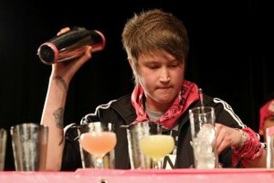 Esquire bar manager Karah Carmack won the Speed Rack Texas title in January.
