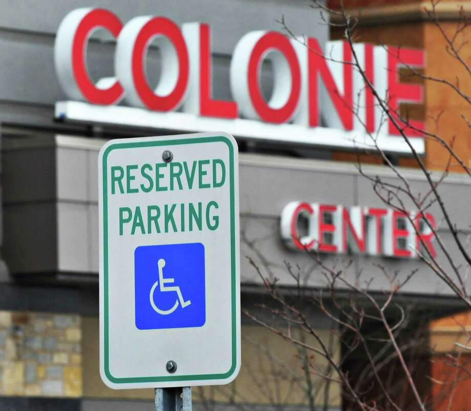 Handicapped parking space sign at Colonie Center Tuesday morning November 23, 2010.   (John Carl D'Annibale / Times Union) Photo: John Carl D'Annibale / 00011185A