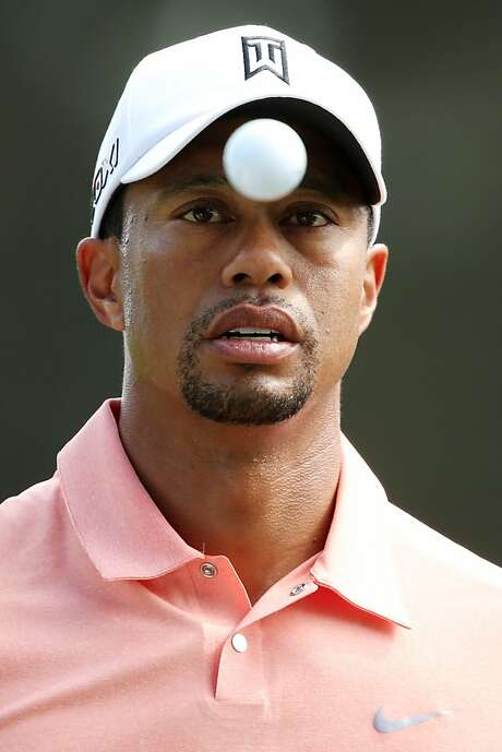 Tiger Woods has his eye on the ball, apparently. Photo: Andrew Redington, Getty Images