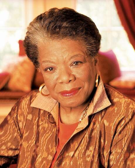Maya Angelou Photo: Dwight Carter