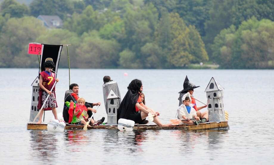 The annual Seafair Milk Carton Derby is on at Green Lake on Saturday, July 13. You\'d be amazed what floats.
