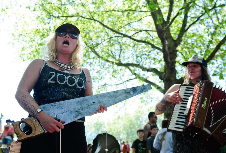 Speaking of uneven, the Northwest Folklife Festival doesn\'t attract anything like the top folk music acts. But it\'s free and entertaining. It\'s set for May 24-27, at Seattle Center.