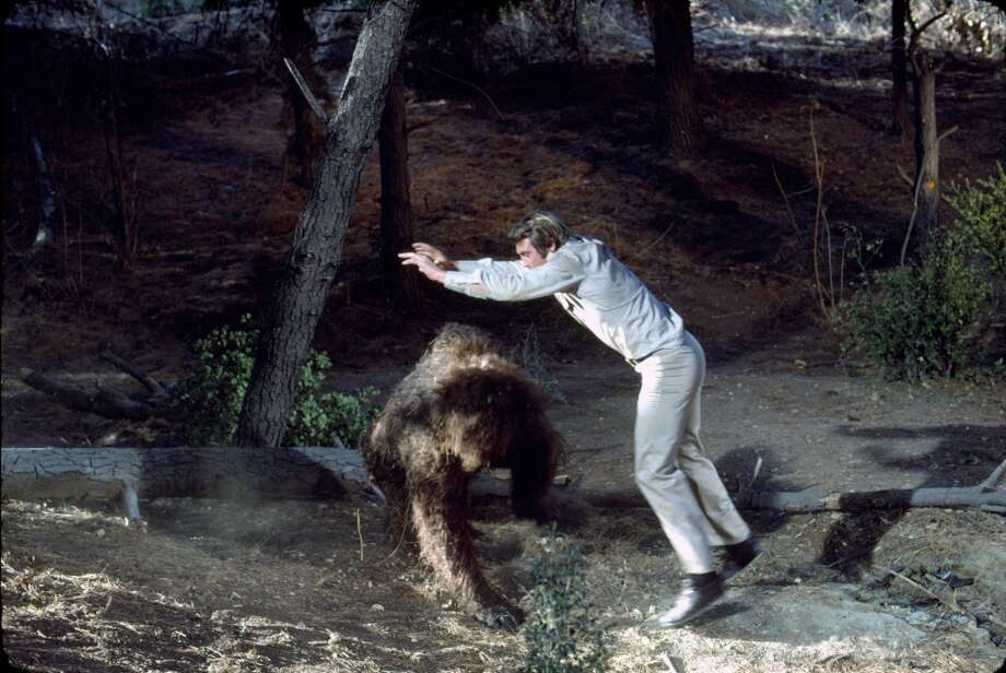 How did the bionic heroes encounter Bigfoot? When the ''Six Million Dollar Man'' was trying to set up an earthquake warning system, of course. The actor known as ''Andre the Giant'' played Bigfoot in the two-part episode. Photo: ABC Photo Archives/Getty Images