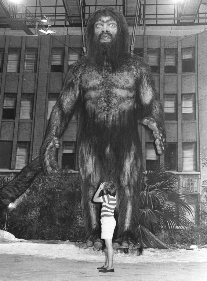 Here's the ape-man model from the 1977 movie ''Yeti.'' Photo: Getty Images