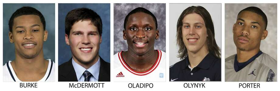 Victor Oladipo averaged 13.6 points and 6.3 rebounds during his junior season at Indiana.