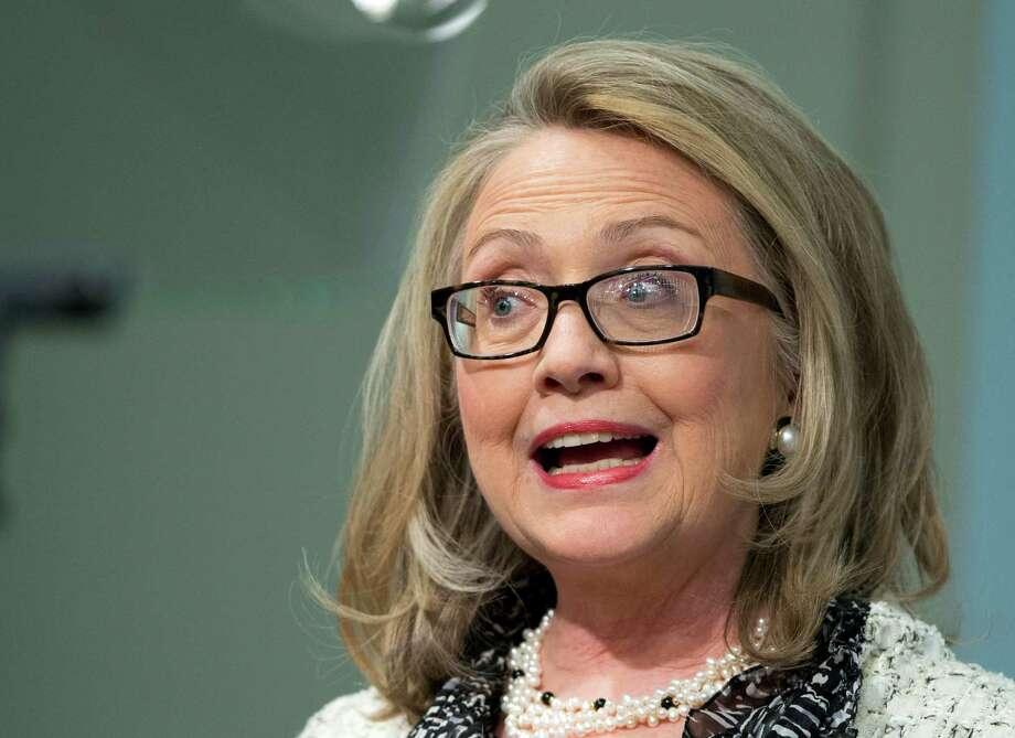 Hillary Clinton in a 2013 file photo. Photo: Manuel Balce Ceneta, Associated Press / AP