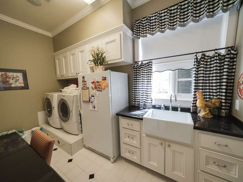 The home's laundry space. Photo: John Daugherty Realtors