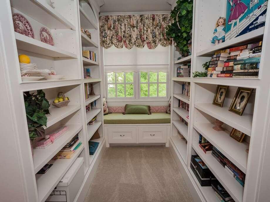 A walk-in closet in the home. Photo: John Daugherty Realtors