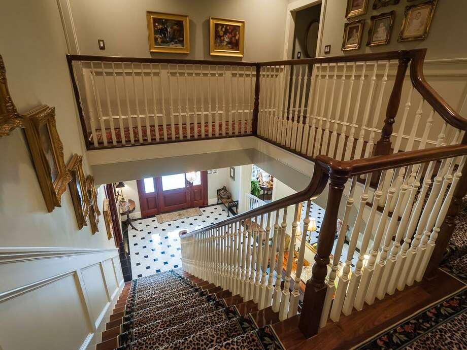A view of the home from its upper level. Photo: John Daugherty Realtors
