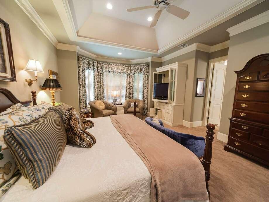 The home's master bedroom. Photo: John Daugherty Realtors