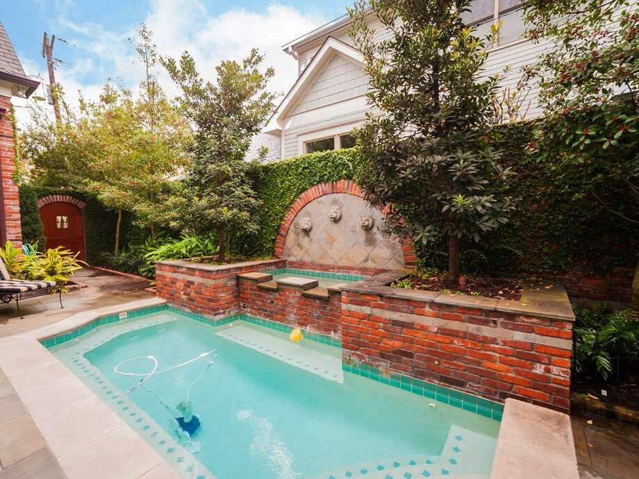 The home includes a saltwater pool area. Photo: John Daugherty Realtors