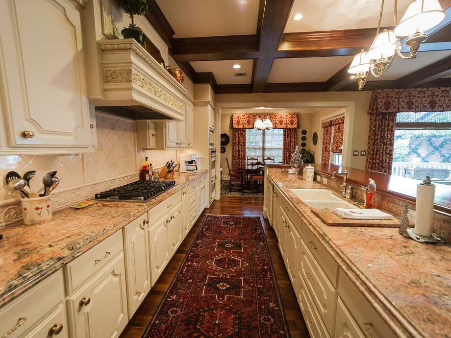 The home's country-styled kitchen. Photo: John Daugherty Realtors