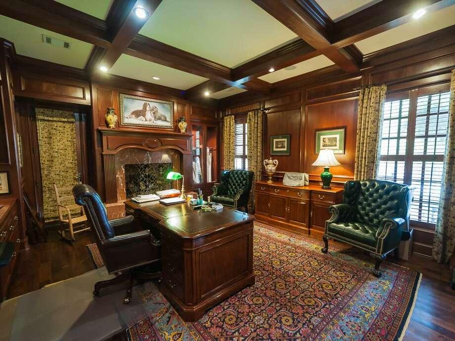 The home's office/den. Photo: John Daugherty Realtors