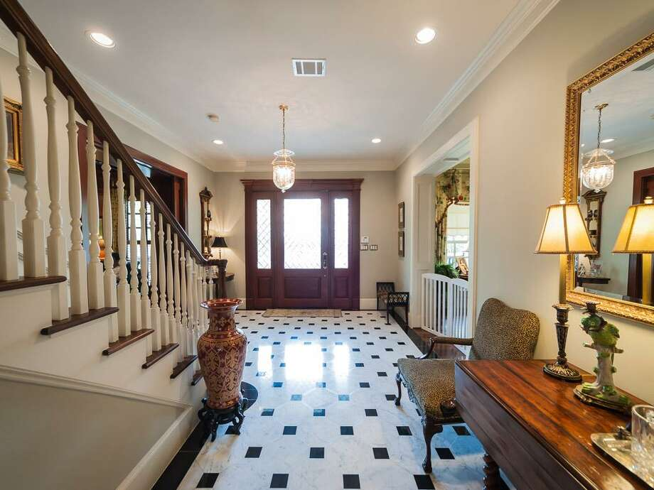 The home's foyer area. Photo: John Daugherty Realtors