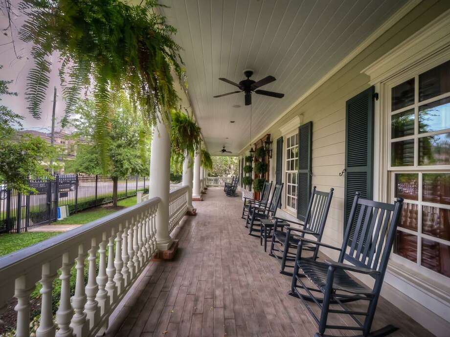 The home's front porch. Photo: John Daugherty Realtors