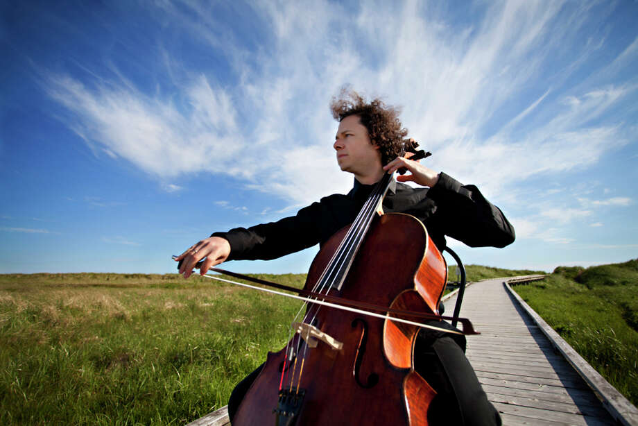 "Cellist Matt Haimovitz will be perform at Silvermine Arts Center in New Canaan, Conn., on Sunday, April 14,2013, at 4 p.m. Haimovitz, who last played at Silvermine in 2005, will perform his solo program ""Beyond Bach."" For more information, visit http://www.silvermineart.org. Photo: Contributed Photo / Connecticut Post Contributed"