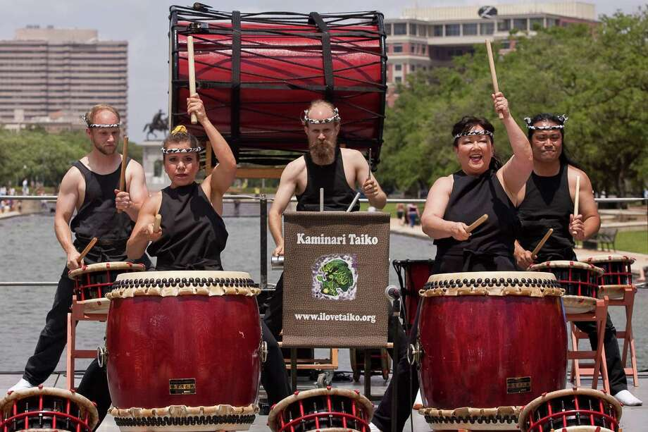 Japanese taiko drummers will perform during the 20th annual Japan Fest. Photo: Nathan Lindstrom, Freelance / Freelance