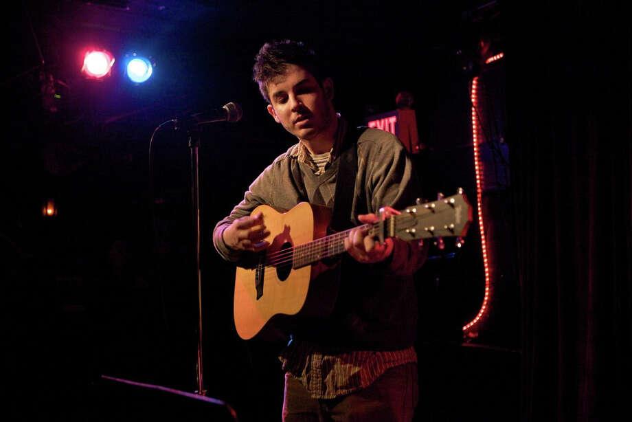 Singer-songwriter Adam Bricks will perform Saturday at Continental Club. Photo: Herb Scher