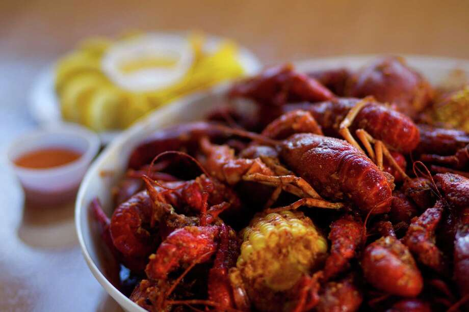 Crawfish, 88 flavor, at 88 Boiling Crawfish & Seafood Restaurant Saturday, April 6, 2013, in Houston. (Cody Duty / Houston Chronicle) Photo: Cody Duty, Staff / © 2013 Houston Chronicle